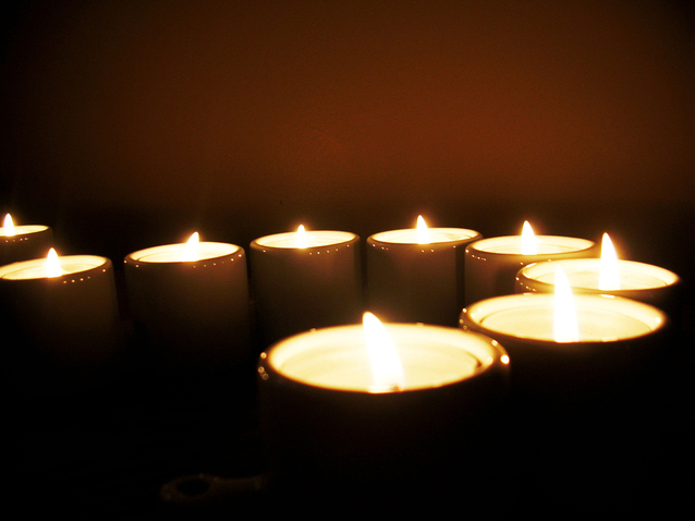 Meditate with Candles
